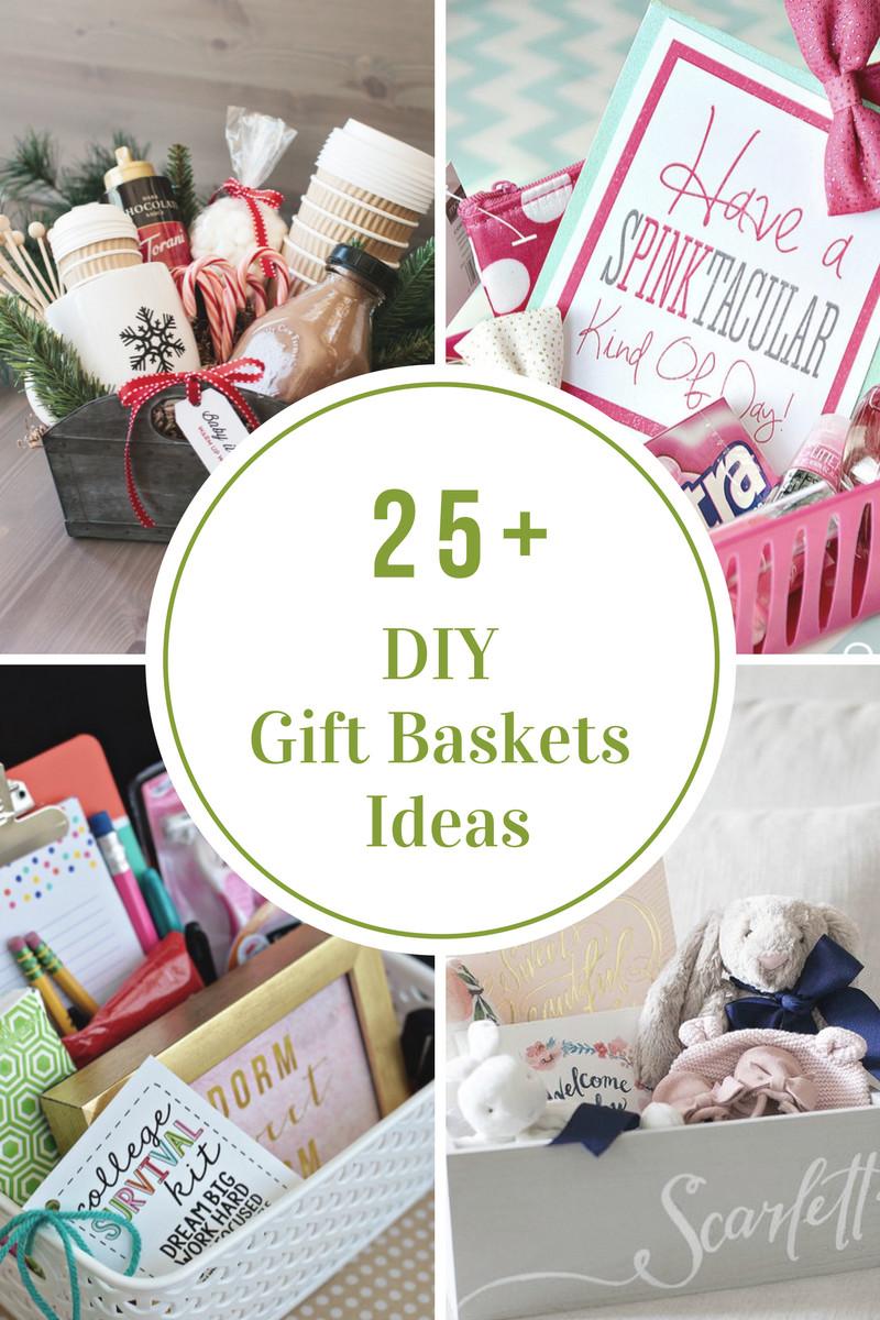 Diy Christmas Gift Baskets Ideas  DIY Gift Basket Ideas The Idea Room