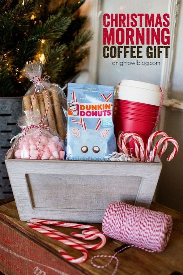 Diy Christmas Gift Baskets Ideas  45 Creative DIY Gift Basket Ideas for Christmas For