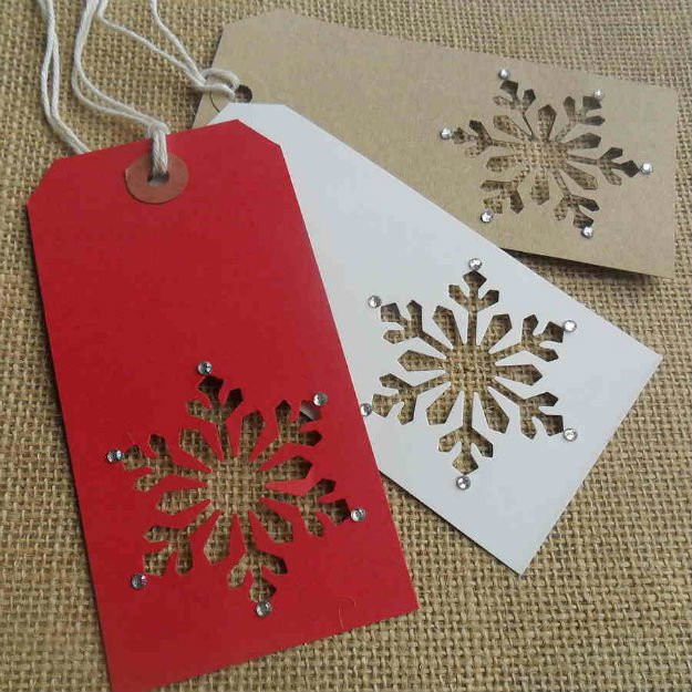 Best ideas about DIY Christmas Gift Tags . Save or Pin 22 Awesome DIY Gift Tags Now.