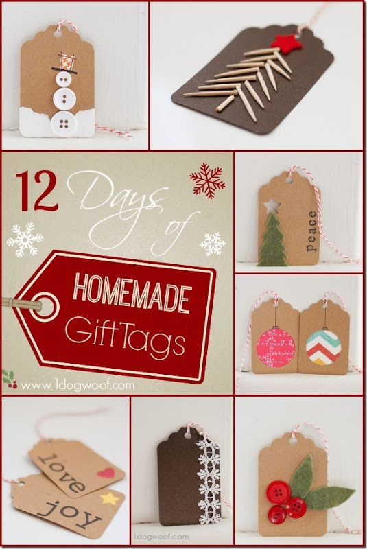 Best ideas about DIY Christmas Gift Tags . Save or Pin Condo Blues 42 Homemade Christmas Gift Tags Now.