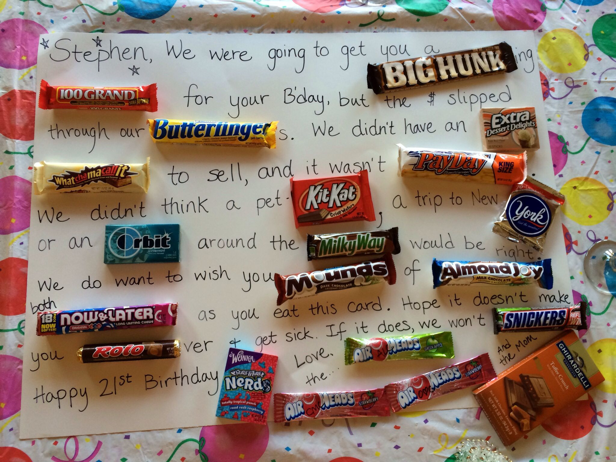 Best ideas about DIY Christmas Gifts For Brothers . Save or Pin Birthday Card for the brother Diy Pinterest Now.