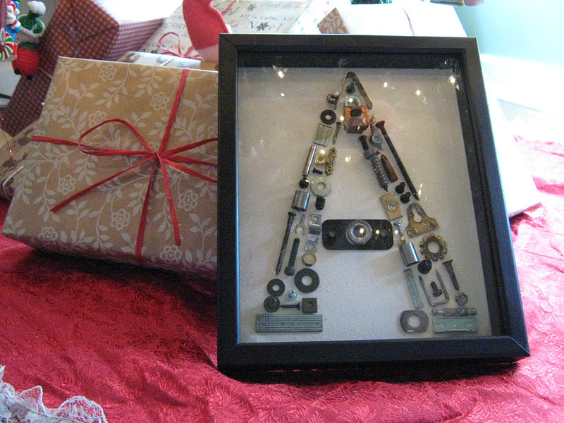 Best ideas about DIY Christmas Gifts For Brothers . Save or Pin Rindy Mae Nuts & Bolts Monogram Now.