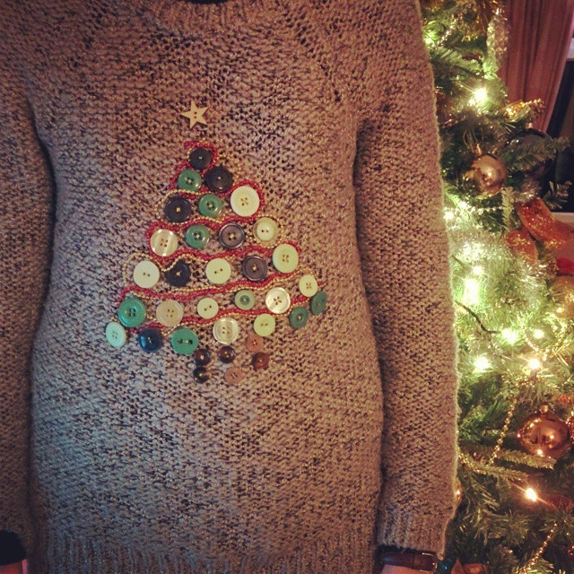 Best ideas about DIY Christmas Jumper . Save or Pin Louise Dawson Design DIY Crafted Christmas Jumper How To Now.