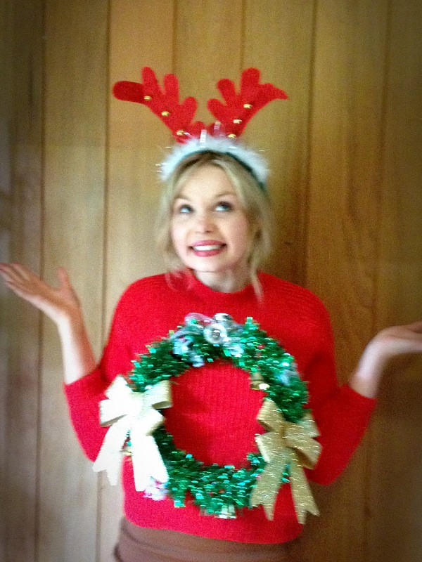 Best ideas about DIY Christmas Jumper . Save or Pin 5 Ideas For A DIY Christmas Jumper Now.