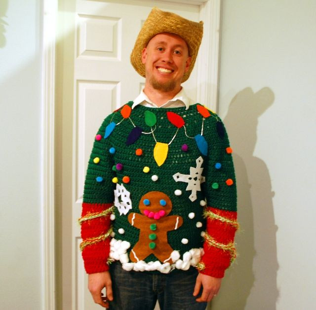Best ideas about DIY Christmas Jumper . Save or Pin Your Big Collection of Outrageously Ugly DIY Christmas Now.
