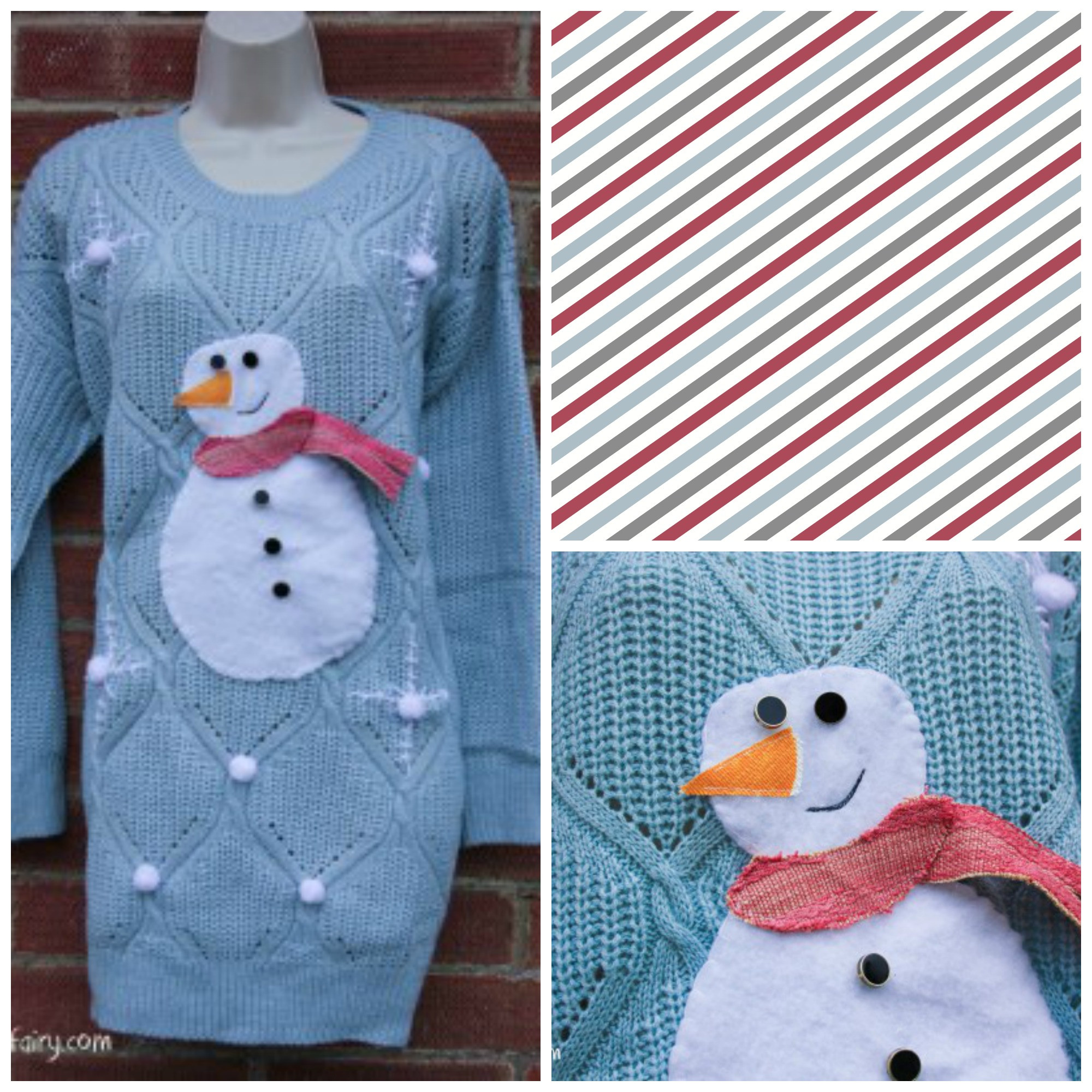 Best ideas about DIY Christmas Jumper . Save or Pin 8 Thrifty DIY Christmas Jumpers The Turtle Mat Blog – For Now.