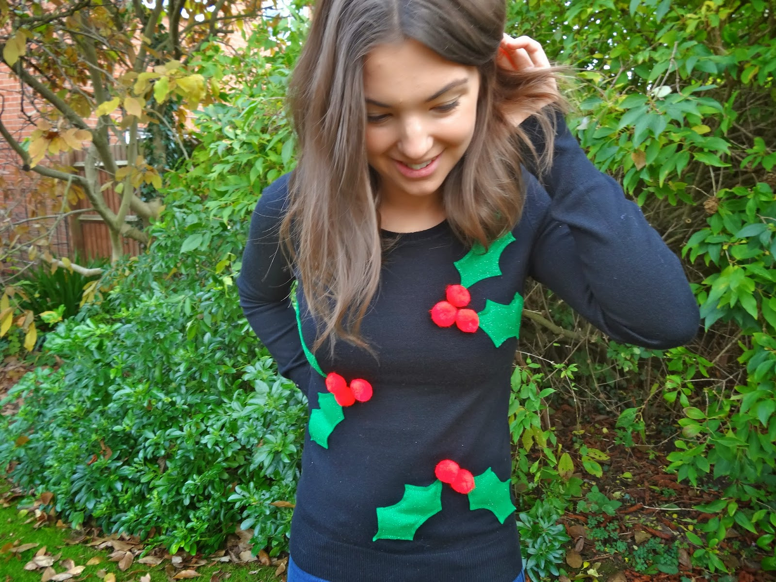 Best ideas about DIY Christmas Jumper . Save or Pin Trends With Benefits DIY Christmas Jumper Now.