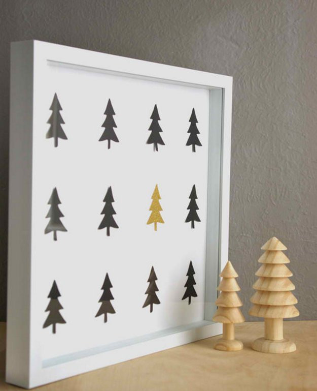 DIY Christmas Wall Decor  50 Easy Christmas Crafts For Everyone In The Family To Enjoy
