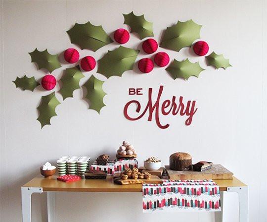 DIY Christmas Wall Decor  DIY Christmas Wall Decorations – Happy Holidays