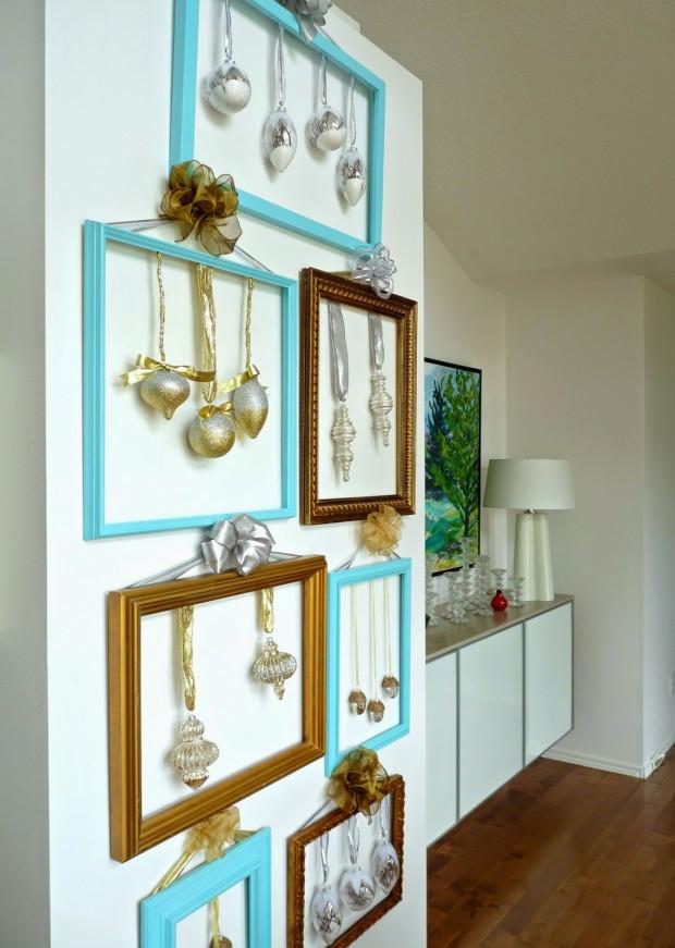 DIY Christmas Wall Decor  Top 20 Festive and Cute DIY Christmas Decoration Style