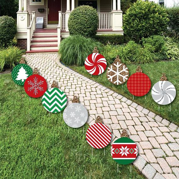 DIY Christmas Yard Decoration  40 Festive DIY Outdoor Christmas Decorations