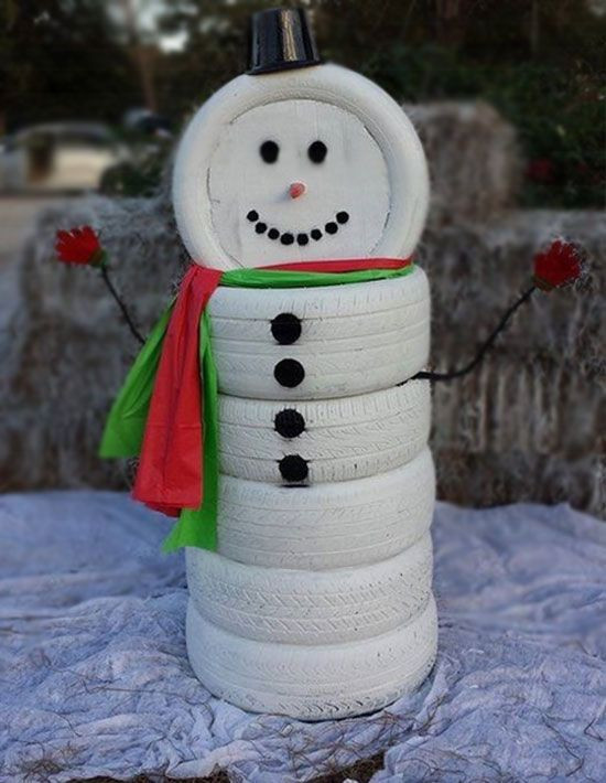 DIY Christmas Yard Decoration  Diy Christmas outdoor decorations ideas Little Piece Me