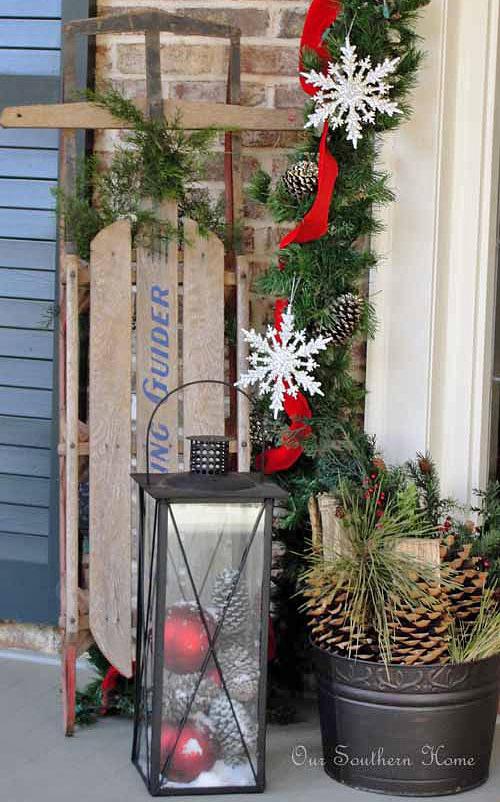 DIY Christmas Yard Decoration  DIY Outdoor Christmas Decorating