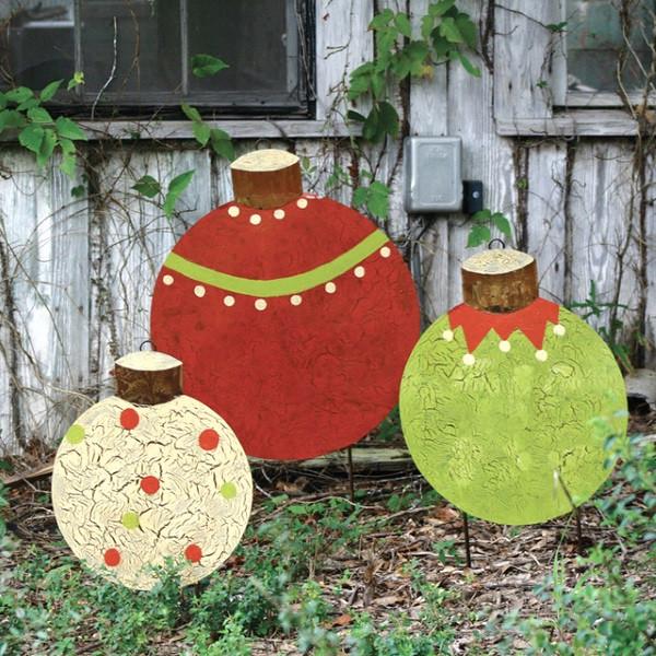 DIY Christmas Yard Decoration  Attractive DIY Outdoor Christmas Decorations Pink Lover