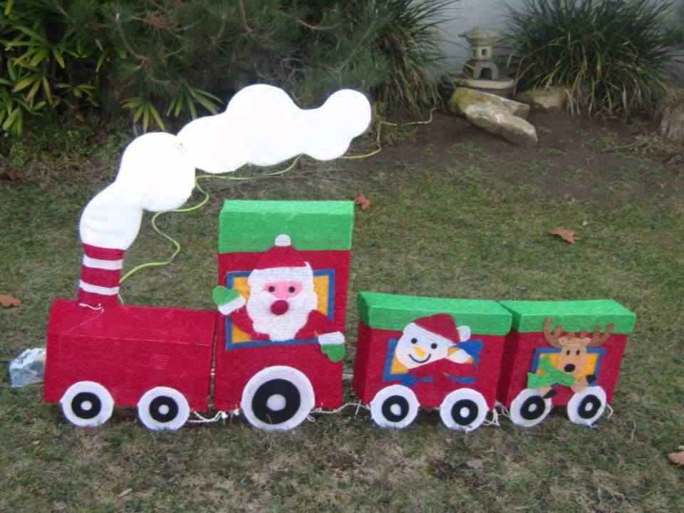 DIY Christmas Yard Decoration  Homemade christmas yard decorations ideas LA California