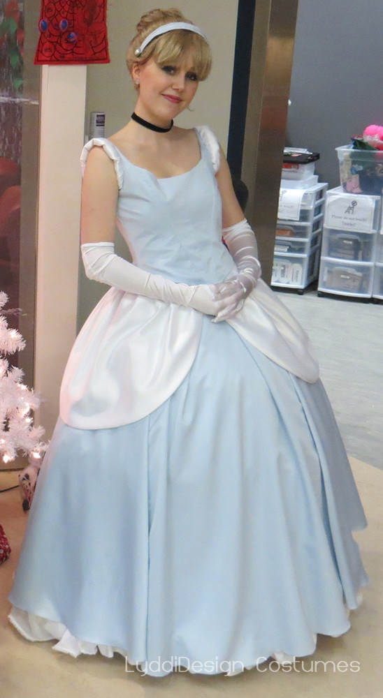 Best ideas about DIY Cinderella Costume For Adults . Save or Pin Cinderella Costume Progress Now.