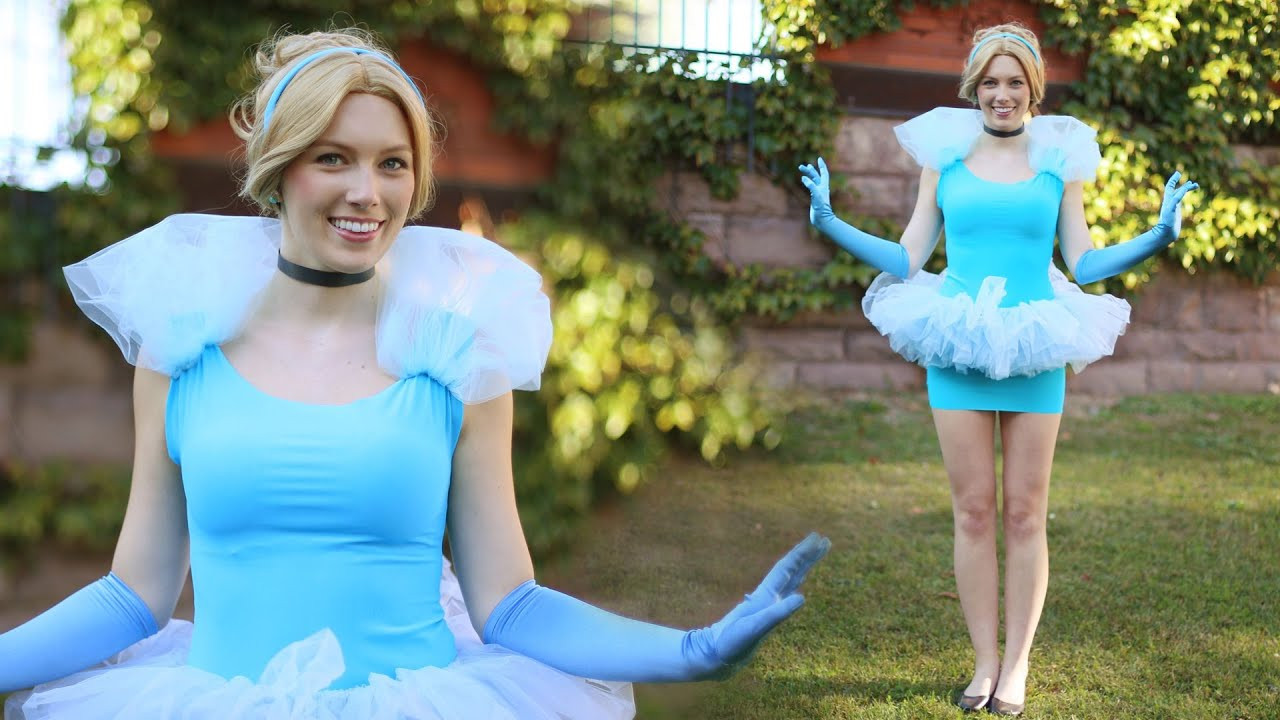 Best ideas about DIY Cinderella Costume For Adults . Save or Pin 30 Last Minute Halloween Costume Ideas Using a Blue Dress Now.