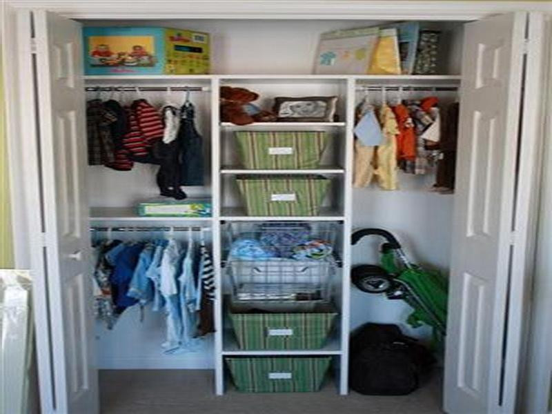 DIY Closet Organizer Ideas  Re examination cheap diy closet organizer