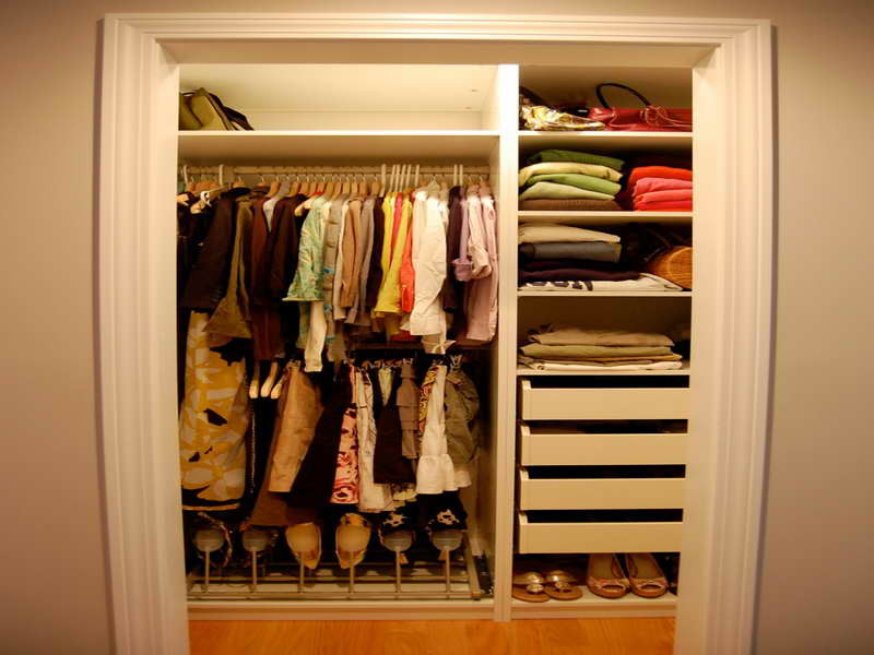 DIY Closet Organizer Ideas  Bloombety Diy Closet Organizer Ideas A Bud With