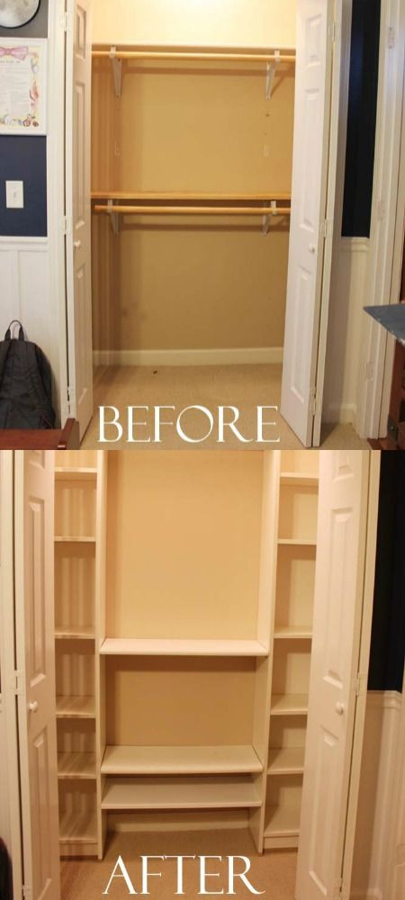 DIY Closet Organizers  Diy Closet Systems WoodWorking Projects & Plans