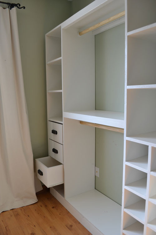 DIY Closet Organizers  Wardrobe Closet Diy Wardrobe Closet Design Ideas