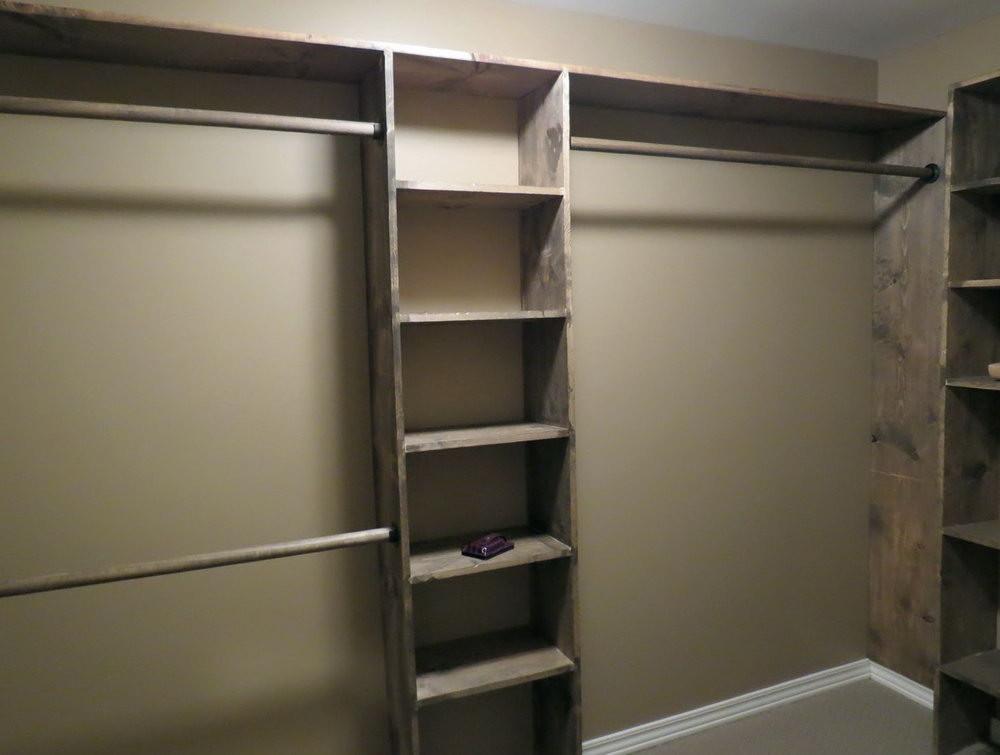 DIY Closet Organizers  How To Build A Closet Organizer Sakuraclinic