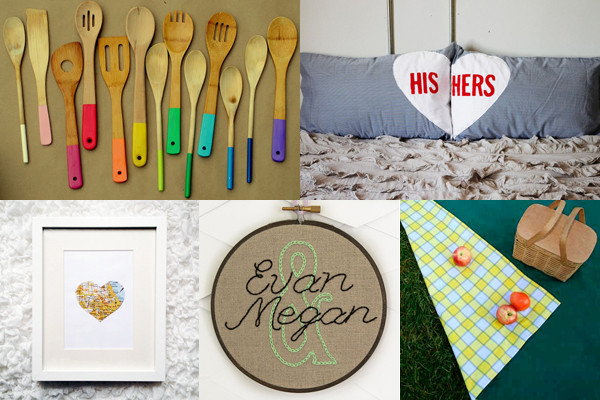 Best ideas about Diy Couples Gift Ideas . Save or Pin Five homemade wedding t ideas from Mollie Makes craft Now.