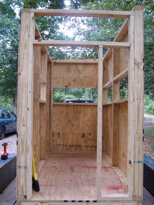 Best ideas about DIY Deer Blinds . Save or Pin A DIY guide on building a box blind hunting blind deer Now.