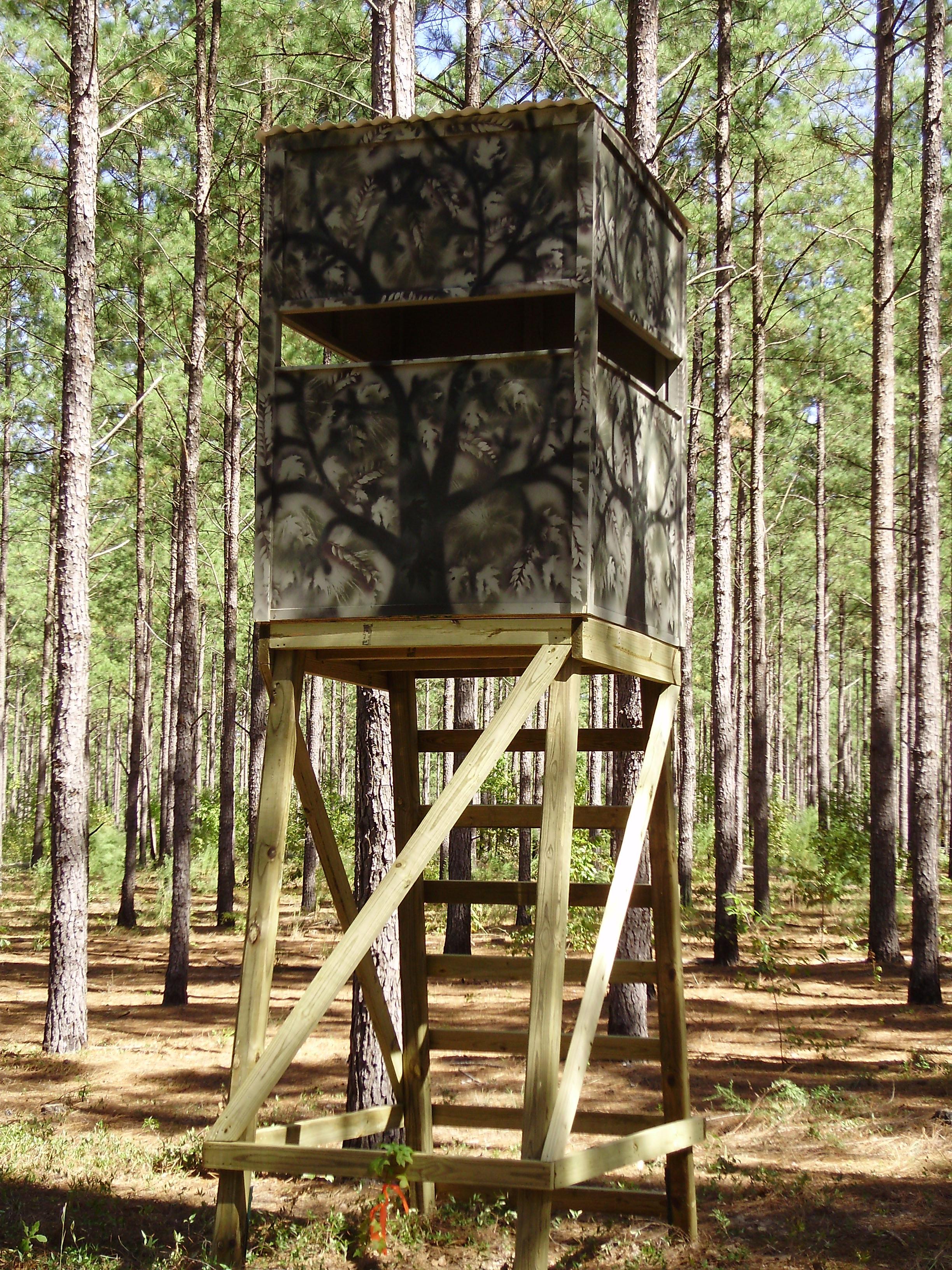 DIY Deer Stands Plans  Wood Deer Stands PDF Woodworking