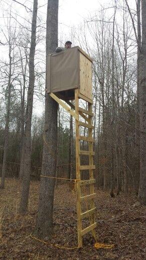 DIY Deer Stands Plans  DIY Ladder deer stand …