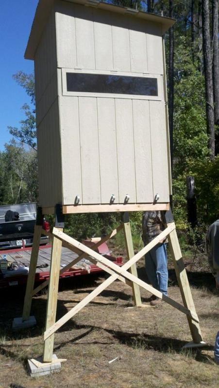 DIY Deer Stands Plans  Homemade Deer Blinds Forum Homemade Ftempo