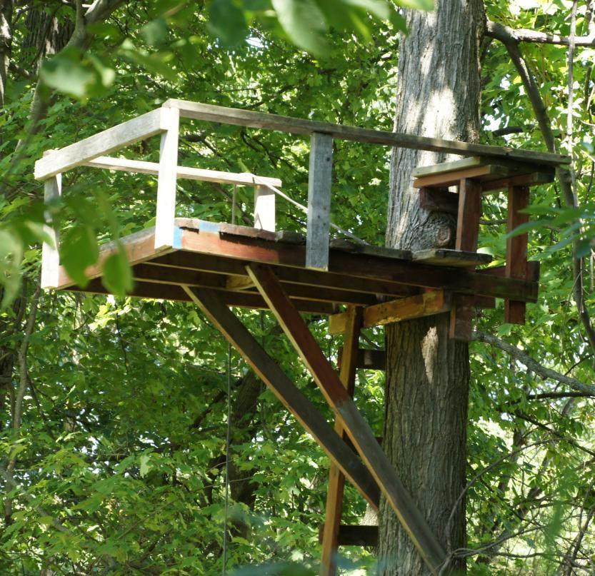 DIY Deer Stands Plans  Tree Stand