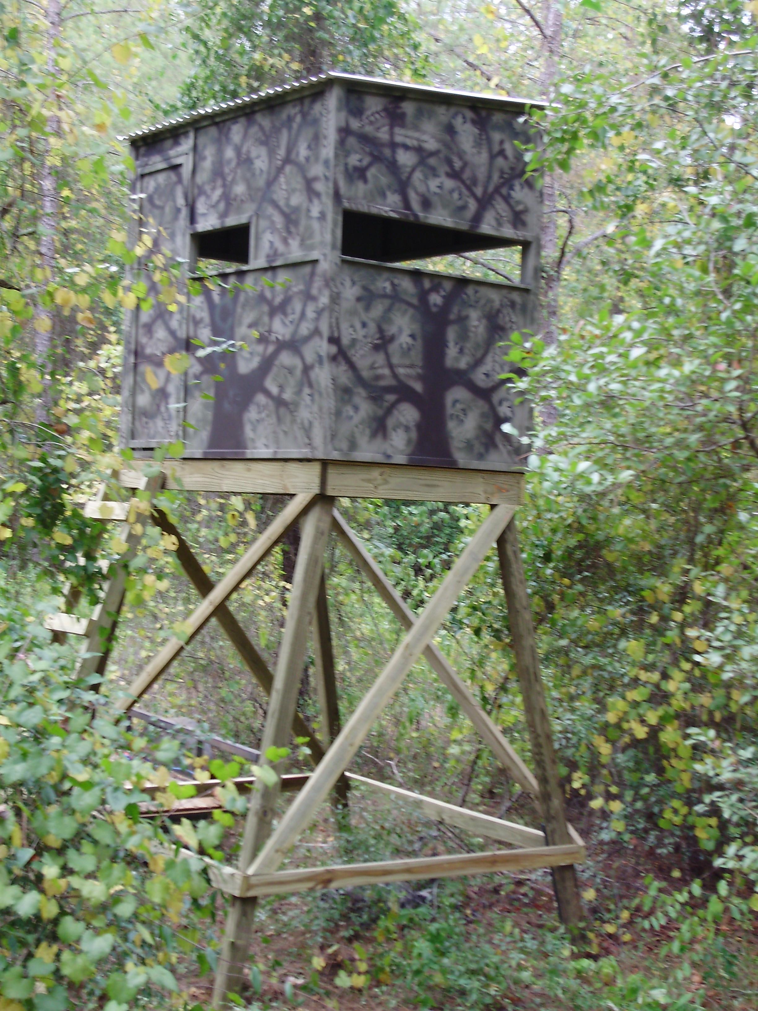 DIY Deer Stands Plans  Wood Deer Stands Plans Free Download
