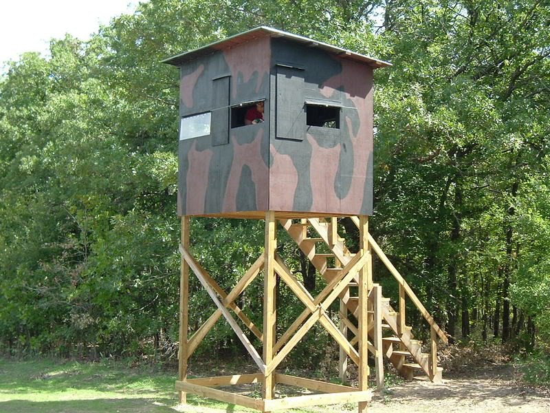 DIY Deer Stands Plans  Wood Shop Access Wood christmas tree stand plans