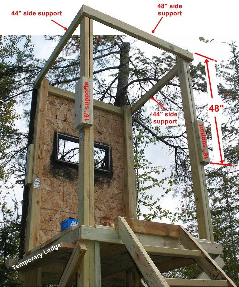 DIY Deer Stands Plans  DIY Deer Stand View Source