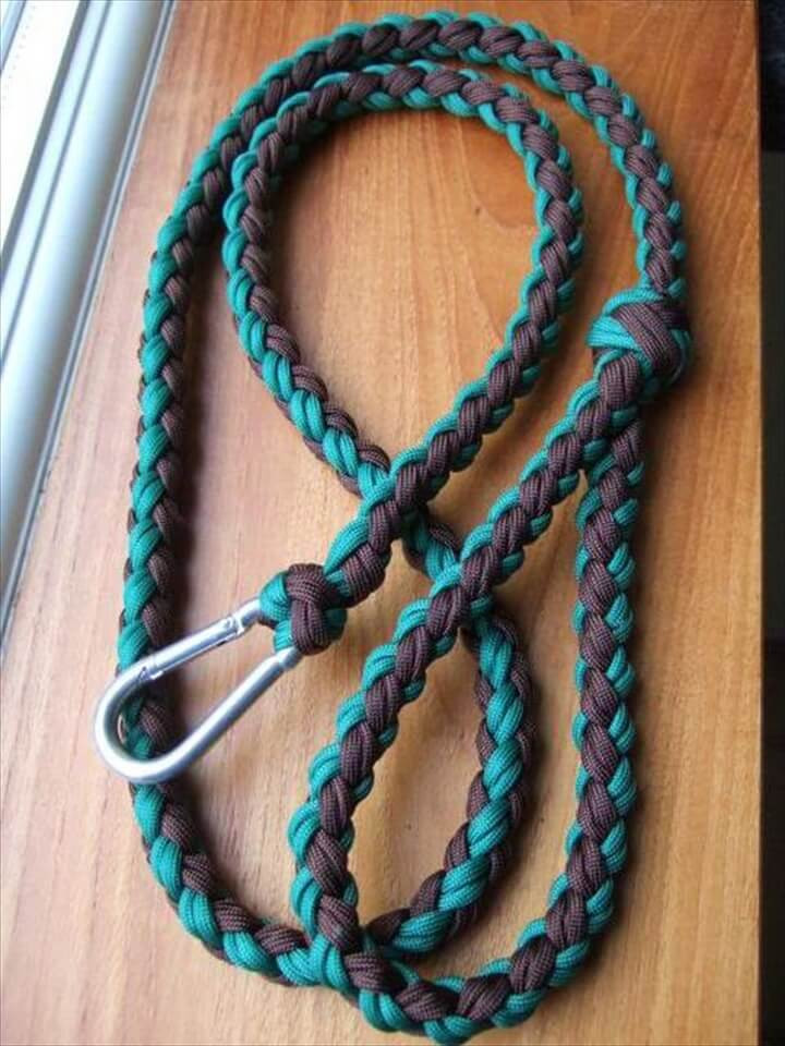 DIY Dog Collar  30 DIY Easy Paracord Project Ideas