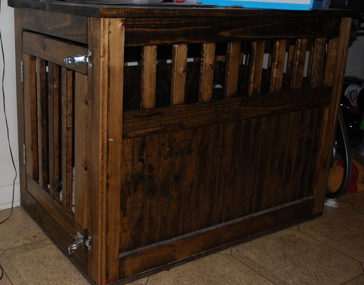DIY Dog Crate  Dog Crate Furniture Plans WoodWorking Projects & Plans