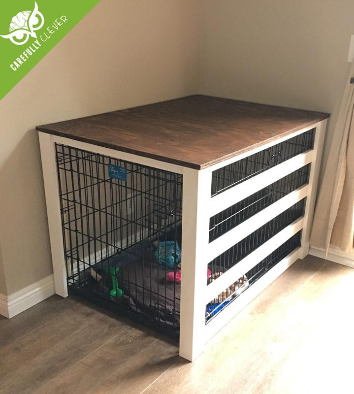DIY Dog Crate  DIY Dog Crate Cover