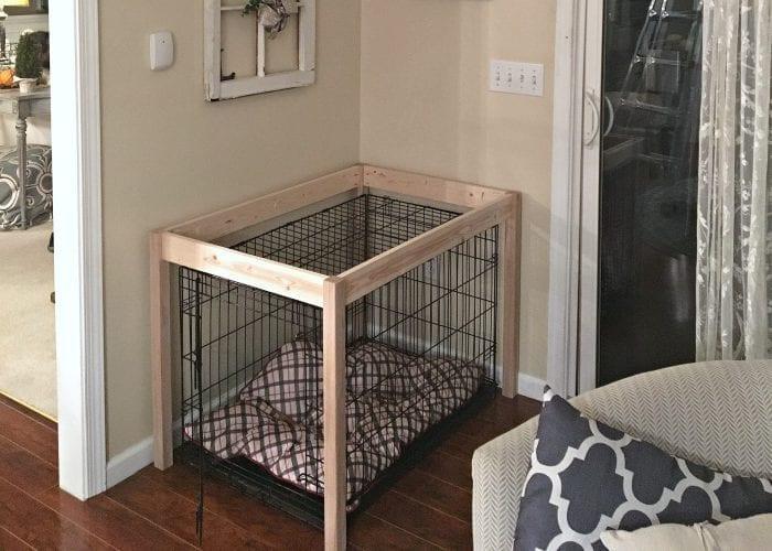DIY Dog Crate  DIY Dog Crate Hack