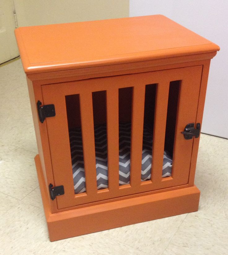 DIY Dog Crate  Diy Dog Crate Nightstand WoodWorking Projects & Plans