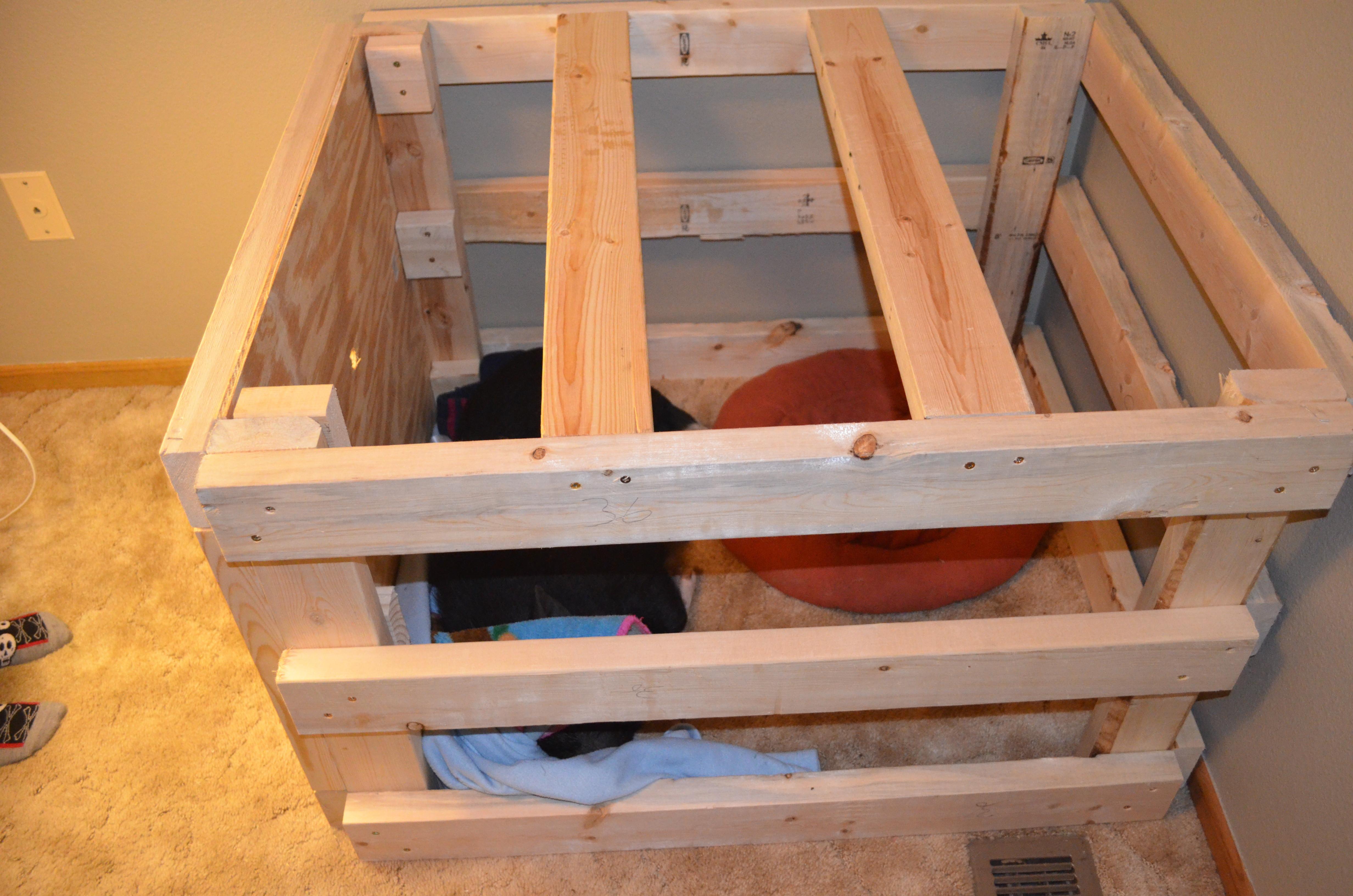 DIY Dog Crate  DIY Homemade Pot Belly Pig Crate
