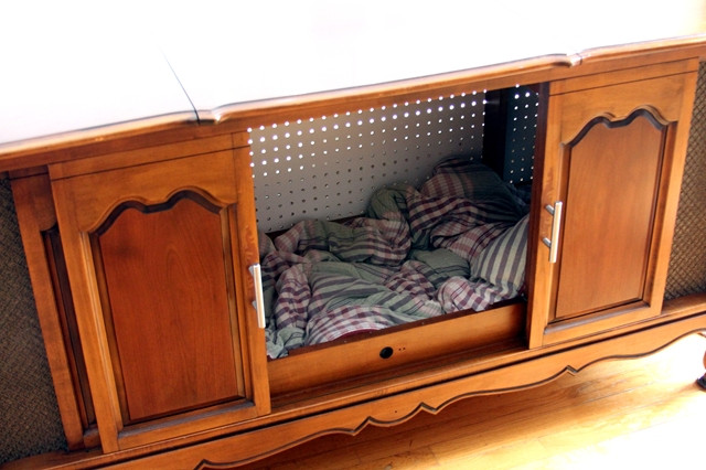 Best ideas about DIY Dog Kennel Indoor . Save or Pin Ana White Now.