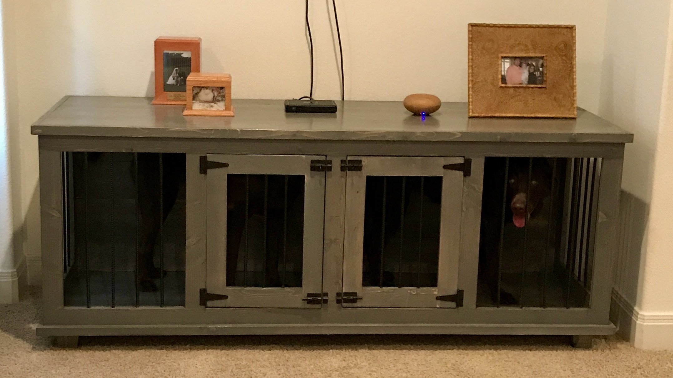 Best ideas about DIY Dog Kennel Indoor . Save or Pin Dog Kennels – Dailey Woodworks Now.