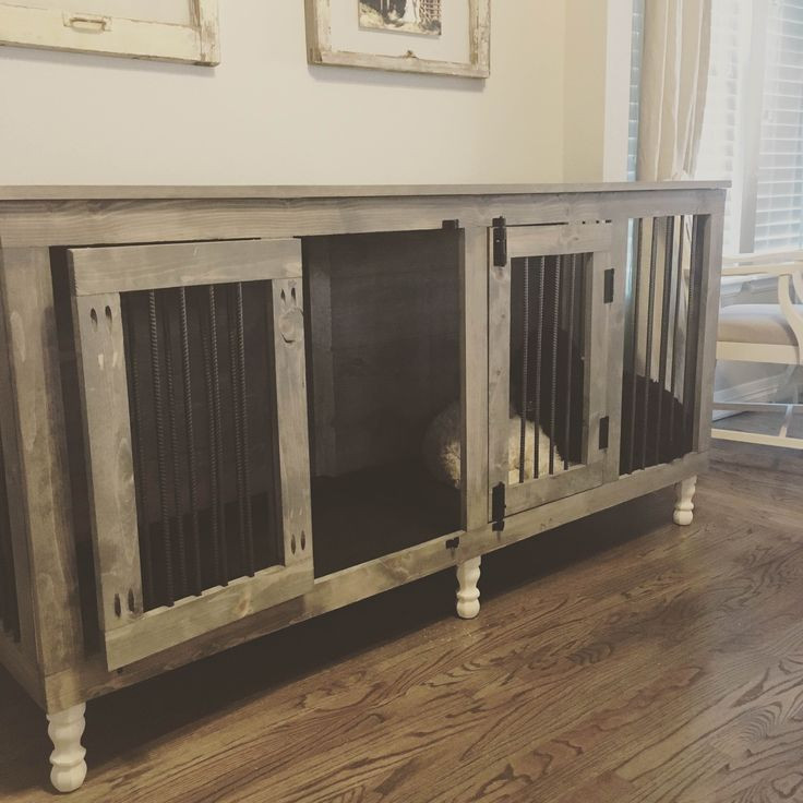 Best ideas about DIY Dog Kennel Indoor . Save or Pin Indoor dog kennel I like that it s up off the floor Now.