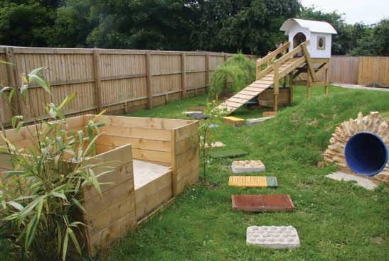 DIY Dog Playground  DIY Dog Sensory Garden petdiys