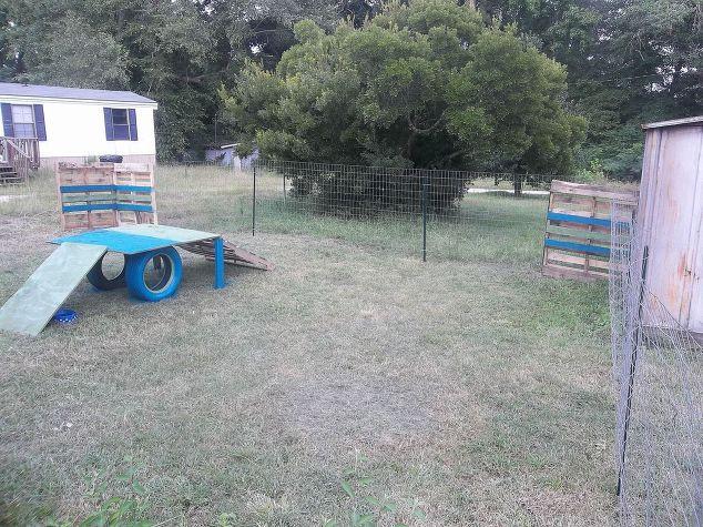 DIY Dog Playground  Dog Playground in 5 Hrs