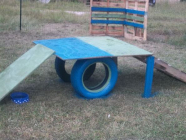 DIY Dog Playground  Hometalk