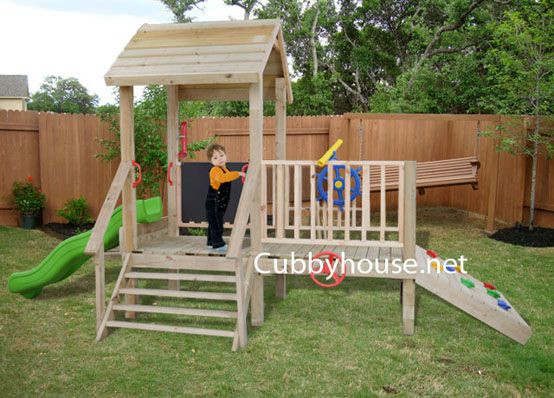 DIY Dog Playground  Turtle Tower Cubby House Australian Made Backyard