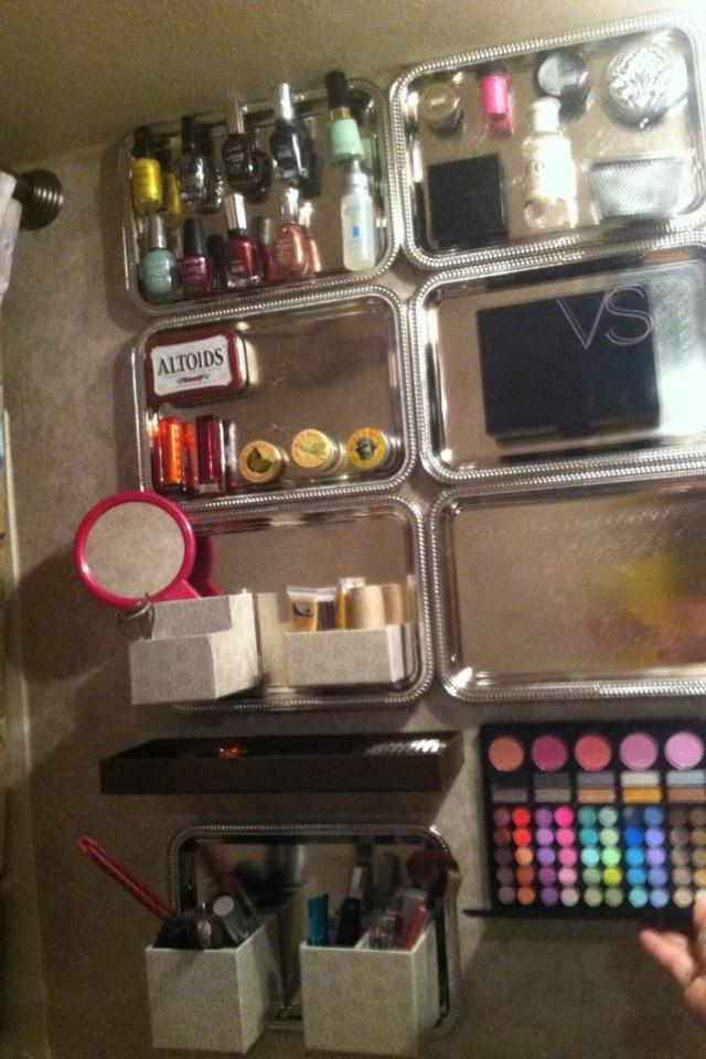 DIY Dollar Tree Makeup Organizer  1000 images about Makeup organization DIY on Pinterest