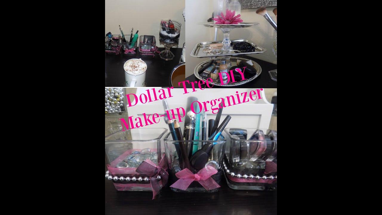 DIY Dollar Tree Makeup Organizer  DIY Makeup Organizer